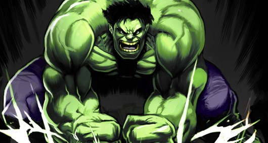 The Incredible Hulk is very pissed off