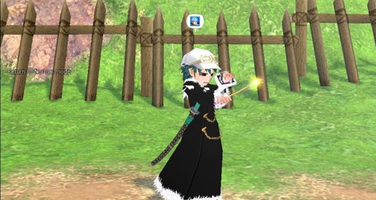 Mabinogi - some cute avatar with a samurai sword