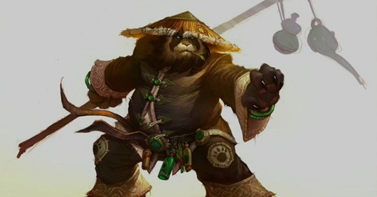 World of Warcraft - Pandaren concept art