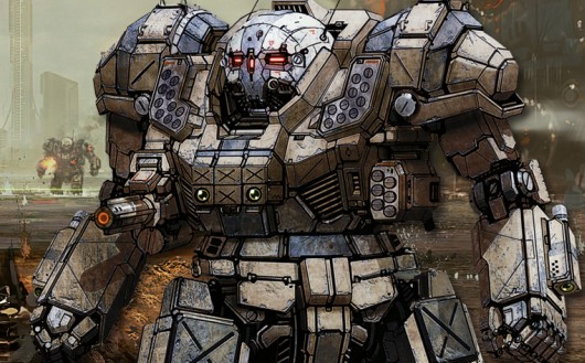 No BattleTech game is complete without a solid 100 tons of Atlas.