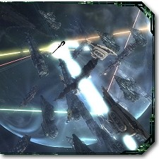 EVE fleet battle image
