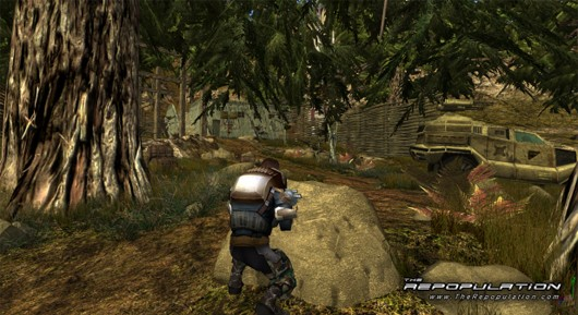 The Repopulation - soldier in the woods