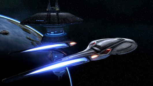 Space - the best backdrop for impressive photographs.  These are the voyages of the starship Glamour Shot.