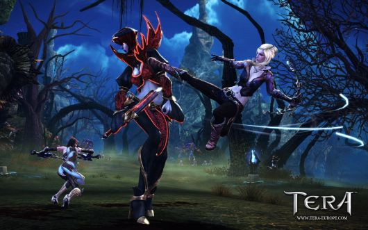Screenshot -- TERA KICK!