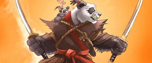 World of Warcraft - angry panda
