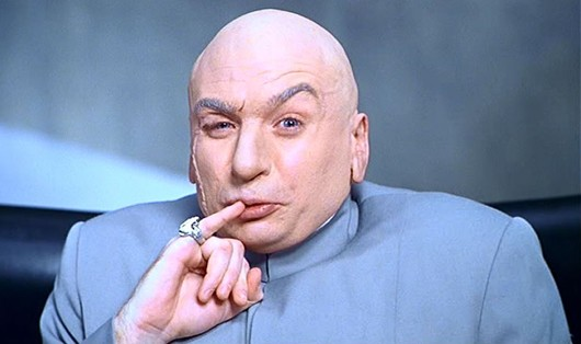 Dr. Evil says one meeellion testing hours is quite a lot