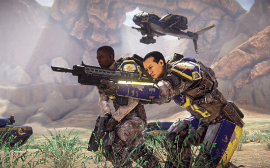PlanetSide 2 - New Conglomerate soldiers