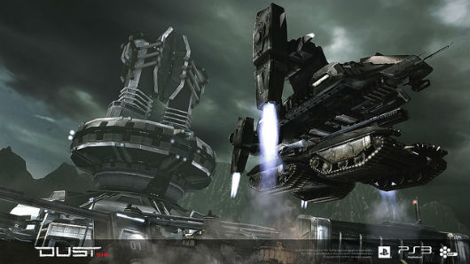 DUST 514 - Rapid deployment vehicle