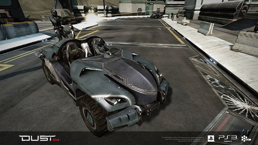 DUST 514 - Caldari saga vehicle
