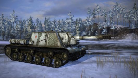 Snow camo - World of Tanks