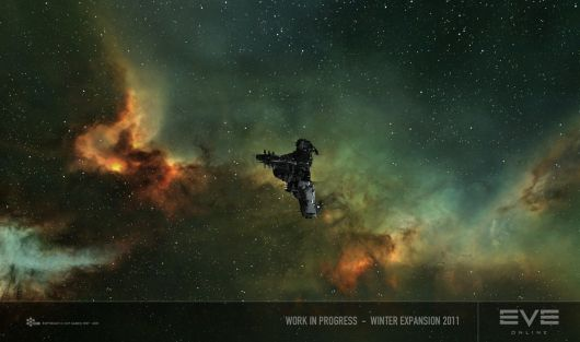 Screenshot -- EVE Online Nebula