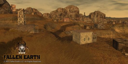 Screenshot -- Fallen Earth
