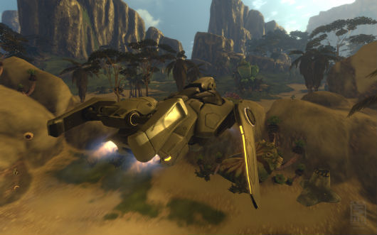 Firefall - vehicle screenshot