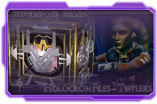 Hyperspace Beacon: Holocron Files -- Twi'leks
