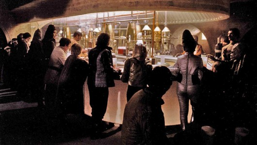 Chalmun's cantina with lots of scum and villainy