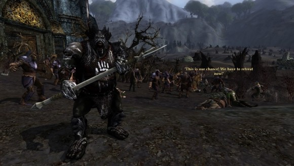 Orc attack!