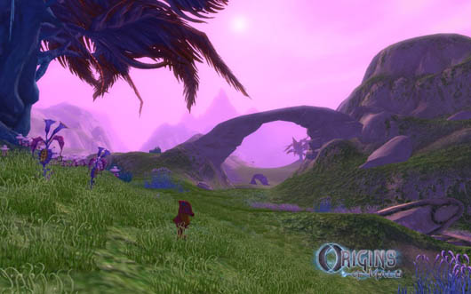 Origins of Malu - landscape screenshot