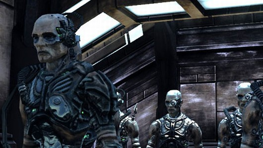 The Borg's susceptibility to computer issues suggests that the Collective is still running on a Windows 98 tower.