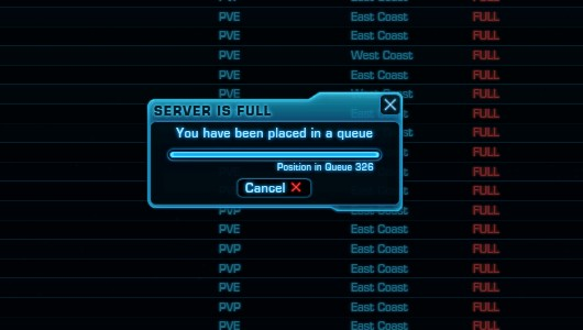 Yeah, more servers for launch is a good idea.