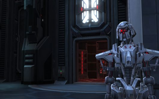 Imperial droid in SWTOR