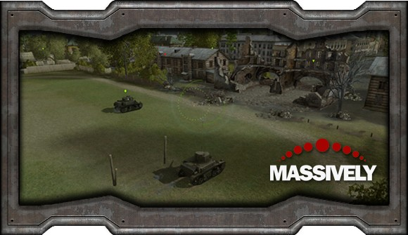 World of Tanks - starting area