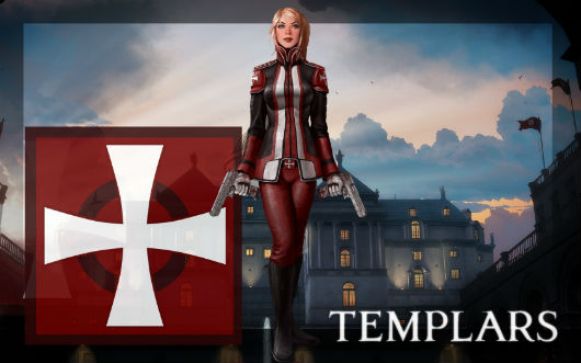 The Secret World - templar girl