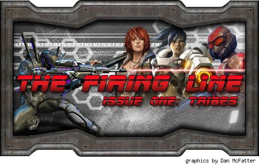 The Firing Line - Header with various shooter characters
