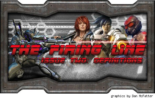 The Firing Line header - various spiffy shooter avatars