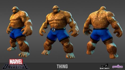 Marvel Universe Online -- Thing