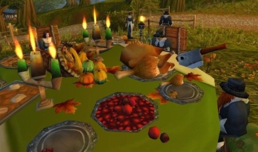WoW Thanksgiving screenshot