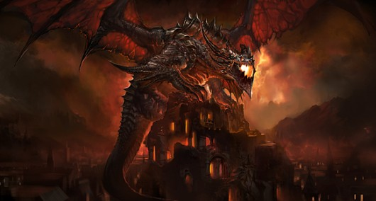 The Year of the Dragon Who Perches On Stuff While Dripping Lava.
