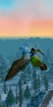 World of Warcraft - flying mount