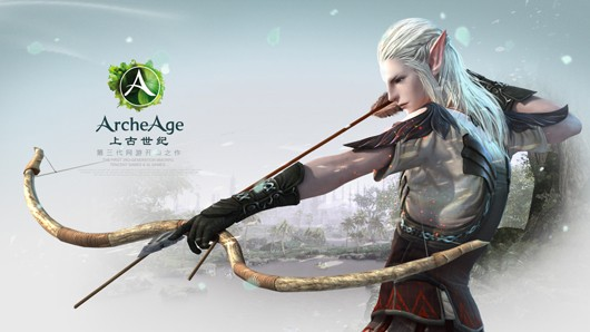 ArcheAge - elf archer concept art