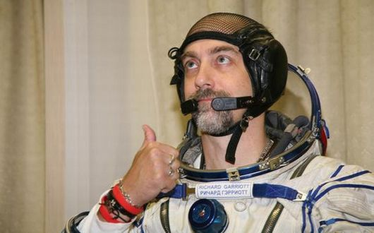 Thumbs up from Astronaut British