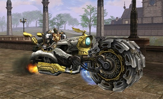 Lineage II - steampunk bike