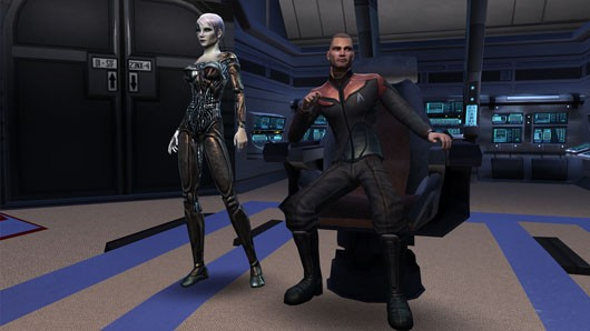 Star Trek Online - captain and bridge officer