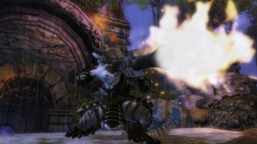 Guild Wars 2 - engineer opens fire