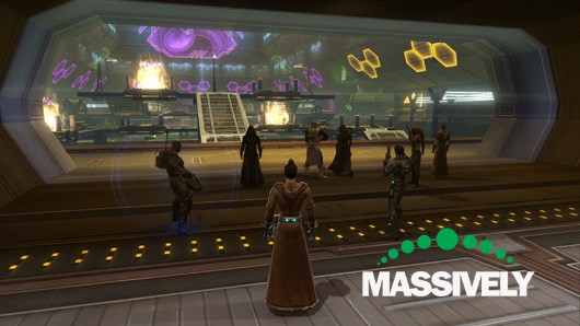 Star Wars: The Old Republic - Huttball pre-match