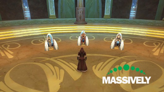 Star Wars: The Old Republic - Jedi Council chambers