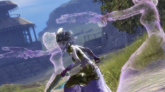 Sylvari Mesmer in Guild Wars 2