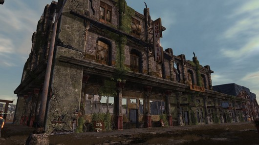 Fallen Earth - New Embry building