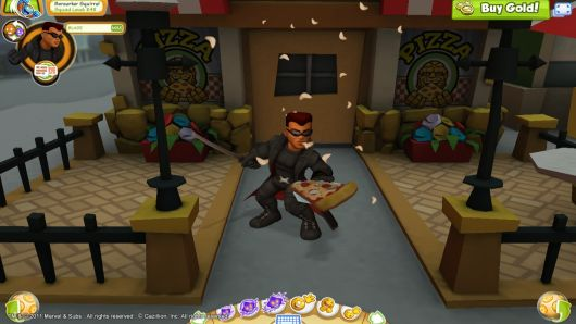 Screenshot -- Super Hero Squad Online