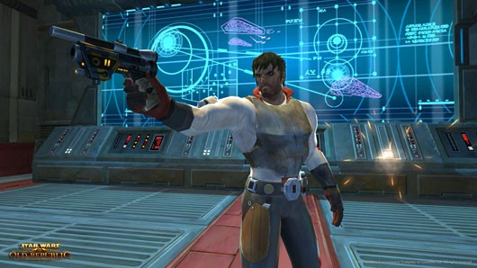 Star Wars: The Old Republic - Not as clumsy or random as a blaster