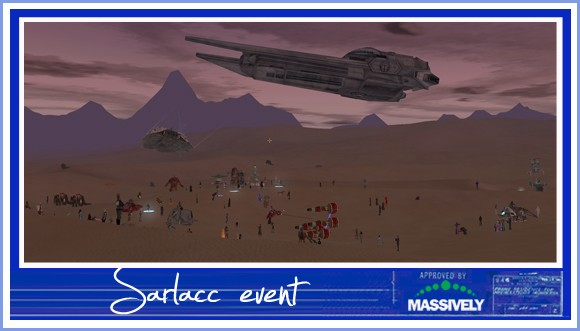 Star Wars Galaxies - Sarlacc event