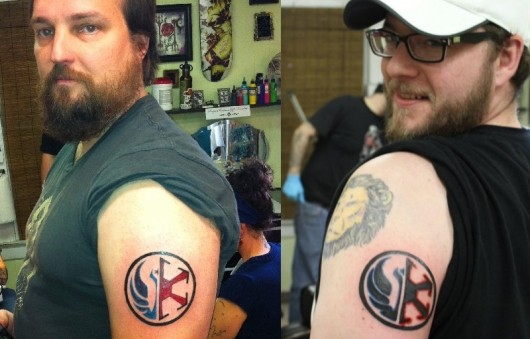 SWTOR launch day tattoos