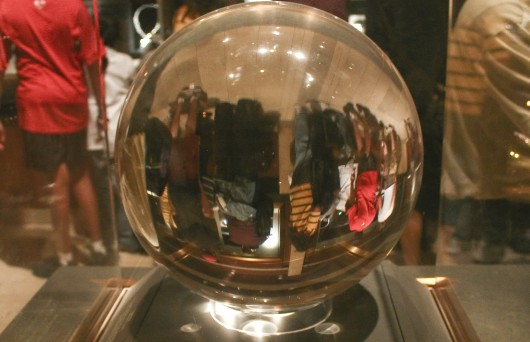 A crystal ball will help you see the inaccurate future.