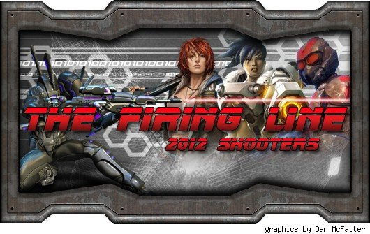 The Firing Line - various shooter characters