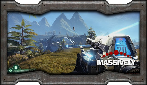 Tribes: Ascend - first person gun view