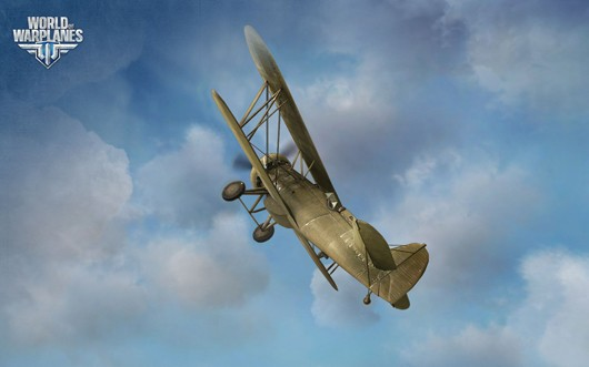 World of Warplanes - P12 Peashooter
