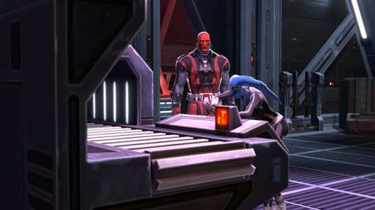 Star Wars: The Old Republic - crafting station
